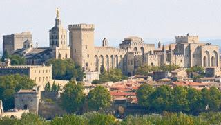 Avignon, dans le Vaucluse