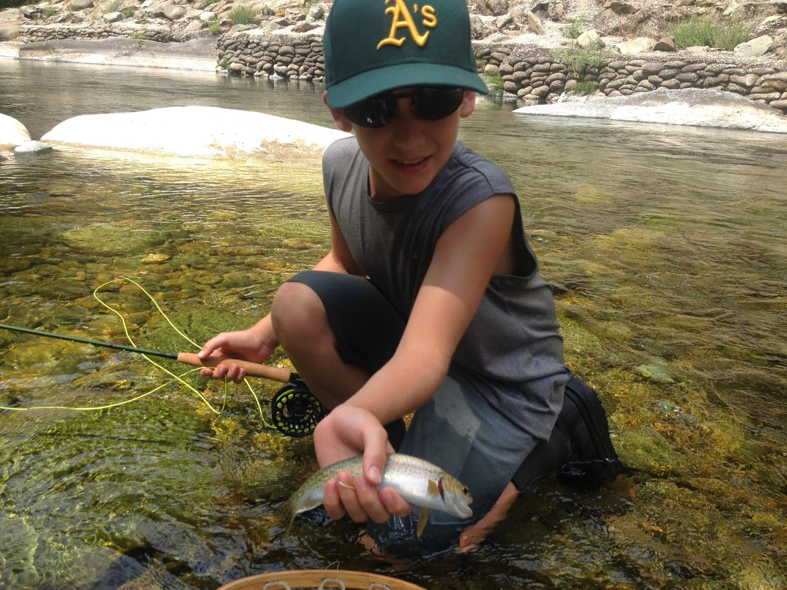 Northern Sierra Fly Fishing North Yuba Report 7 23 14