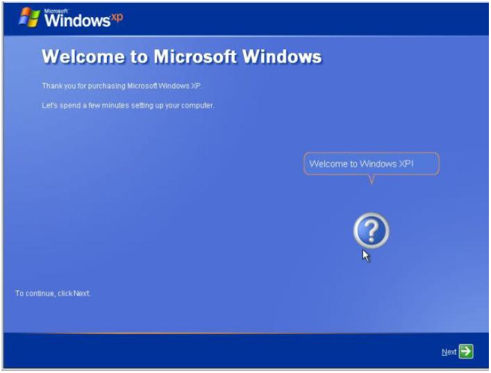 Windows xp install in android