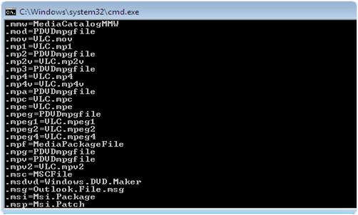 windows cmd commands list pdf