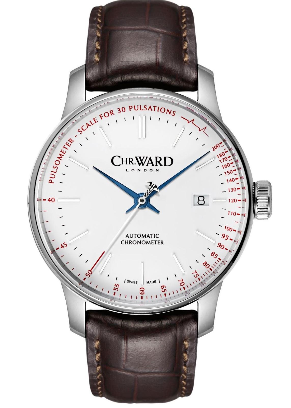 neue uhr christopher ward c9 pulsometer limited edition chronometer. Black Bedroom Furniture Sets. Home Design Ideas