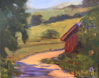 Paso Robles Oil Painting