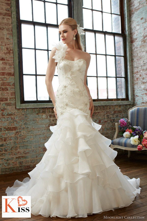 Moonlight Bridal Wedding Dresses Fall 2013
