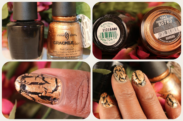 China Glaze Crackle Nail Polish