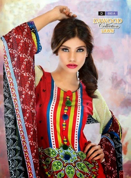 Possess A Nearer Examine Dawood Fabric Offers Summer Months Lawn Variety 2014 VOL 5