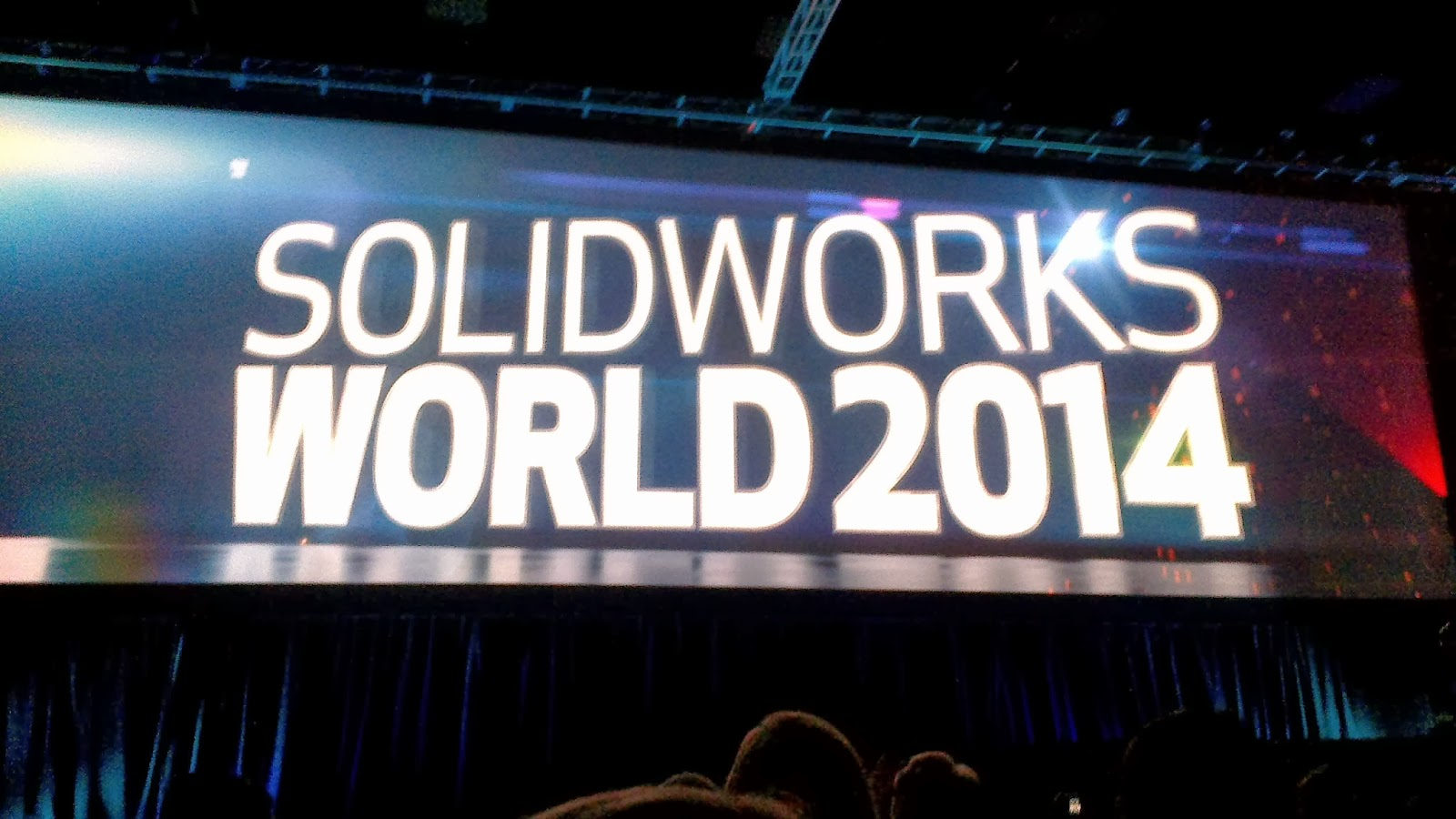 Opening of SolidWorks World 2014