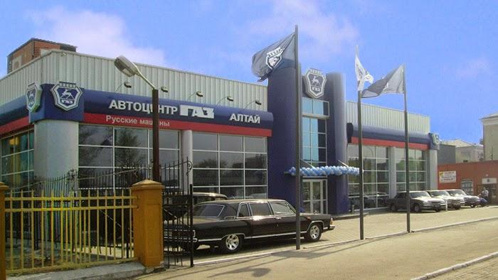 autosalon na Sibiři
