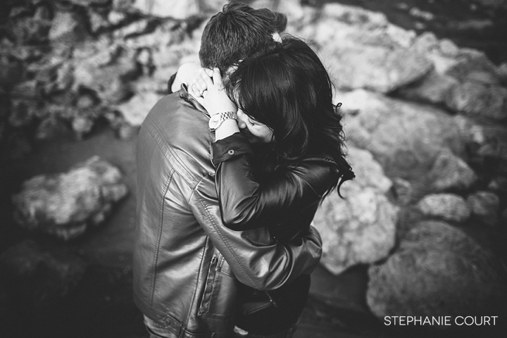 engagement photos at sutro baths