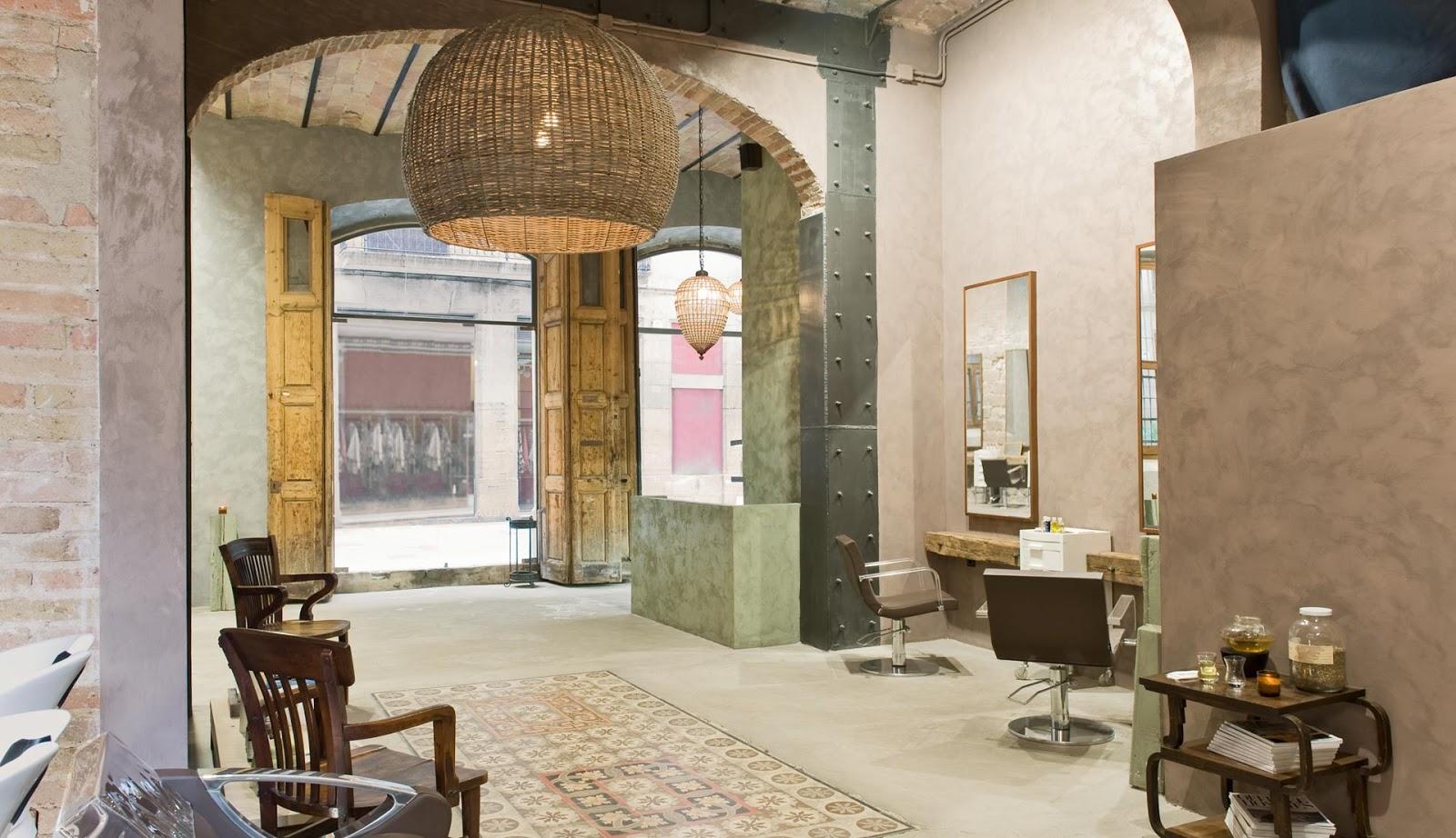 Mes caprices belges decoraci n interiorismo y for Decoracion en peluquerias