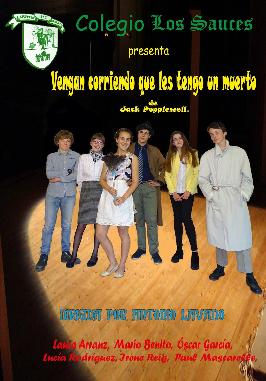 Obra de teatro. Curso 2016-2017