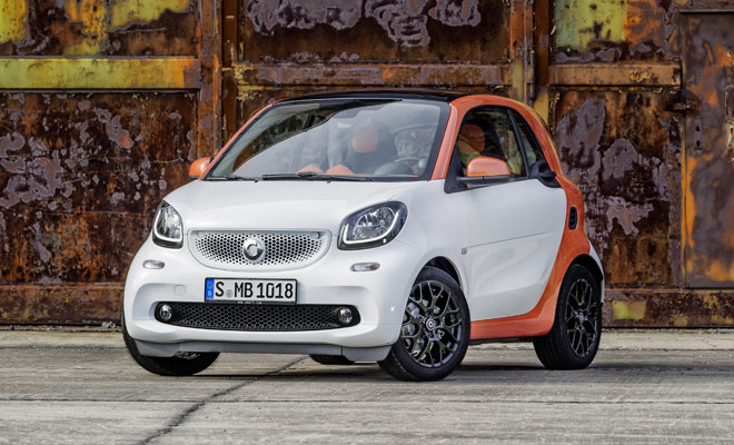 2015 Smart ForTwo front view