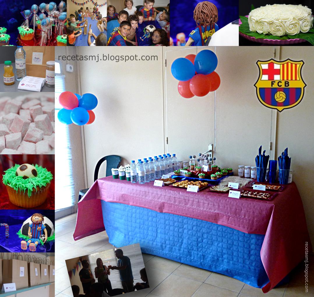 Fiesta de cumplea os del bar a las recetas de mj - Lucio barcelona decoracion ...