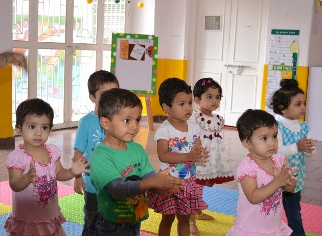 admission criteria for nursery