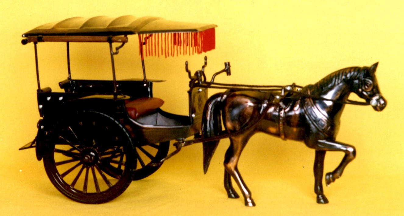 gambar alat transportasi tradisional indonesia gambar alat