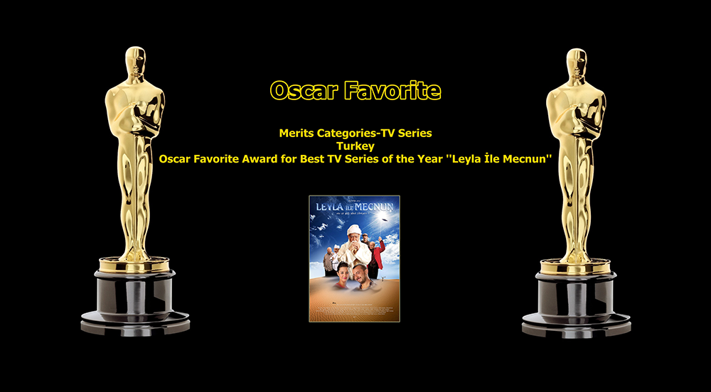oscar favorite best tv series of the year turkey award leyla ile mecnun