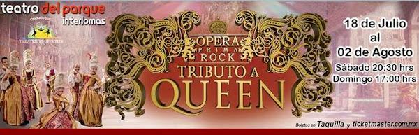 Òpera Prima Rock Teatro del Parque Interlomas 18 julio - 2 agosto Boletos taquilla  y Ticketmaster
