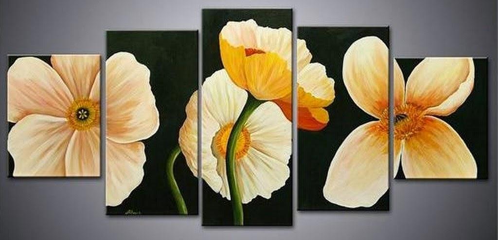 cuadros-de-flores-blancas