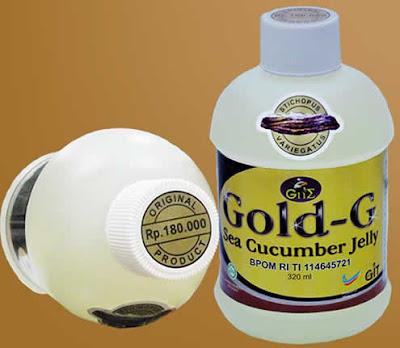 Jelly Gamat Gold-G Yang Aman Untuk Menyembuhkan Penyakit Anak