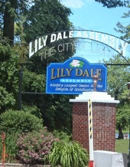 lily dale ny entrance signage