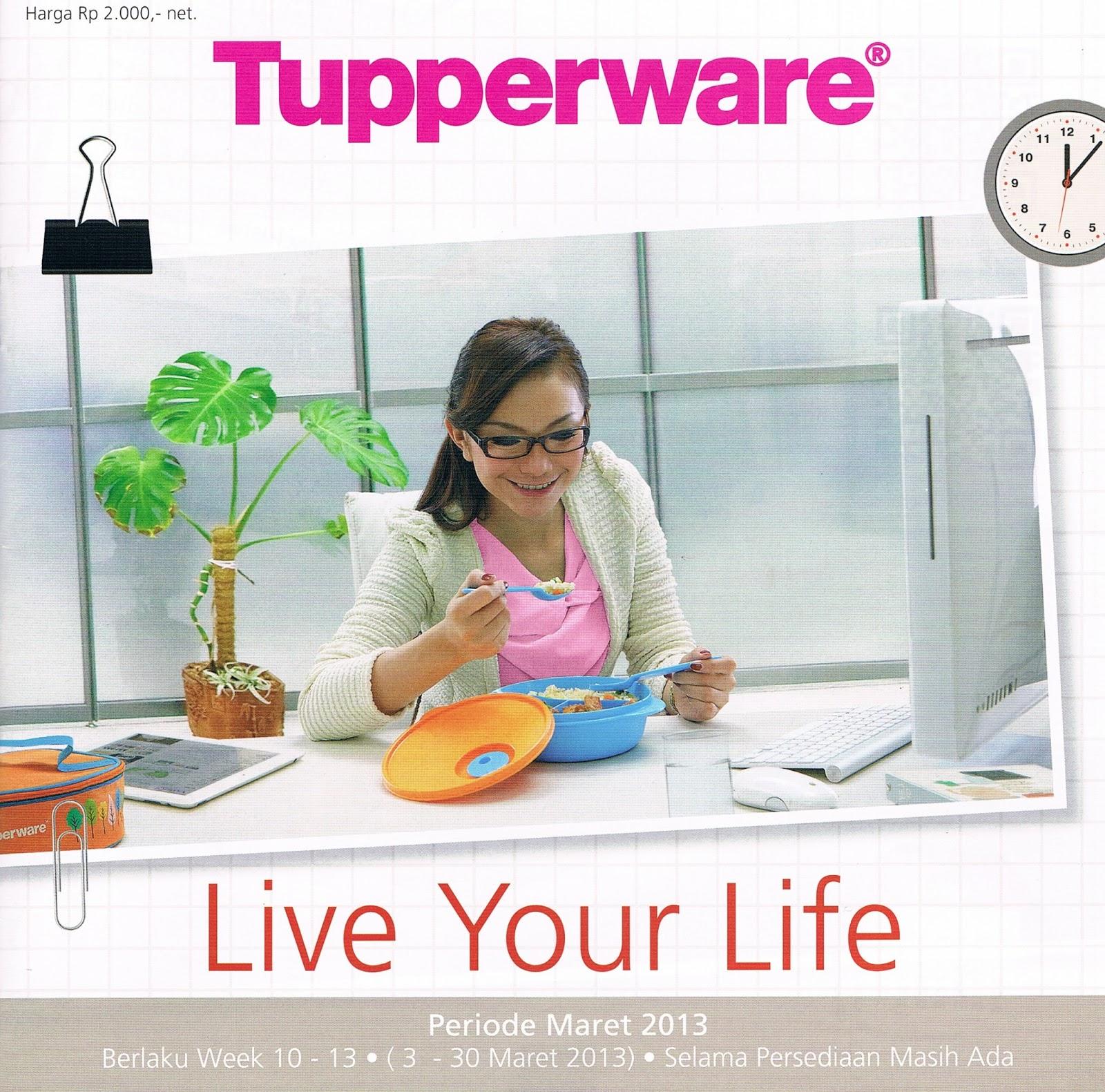 Tupperware Promo Maret 2013