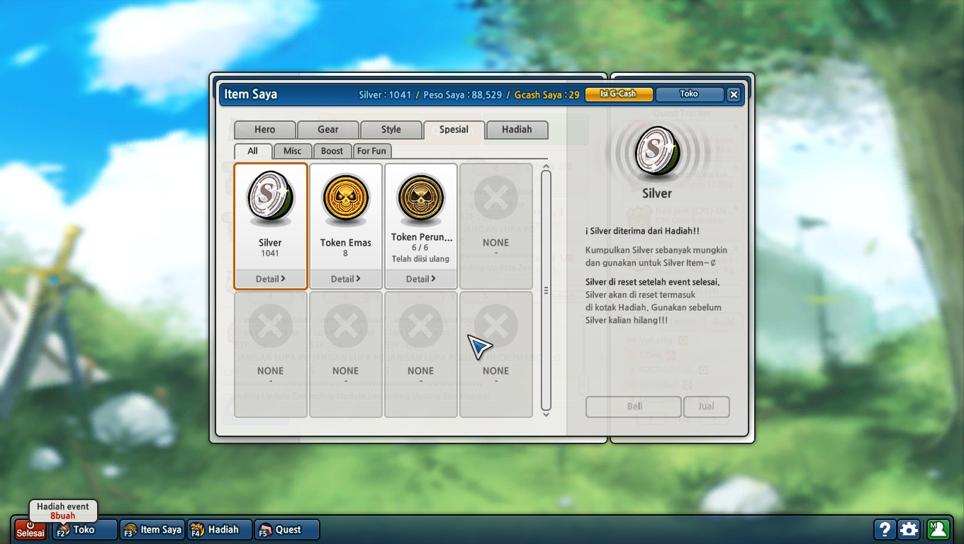 download cheat bug silver lost saga