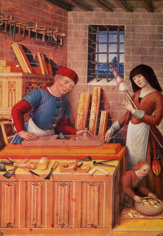 Elmer y compa a los artesanos en la edad media v - El taller de lo antiguo ...