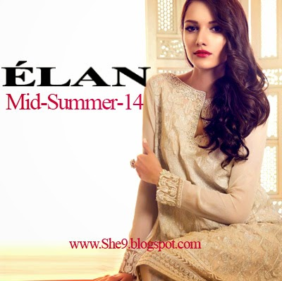Elan Mid-Summer Collection 2014 - Luxurious Pret for Luxurious Girls