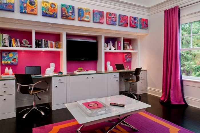 How to make a cheerful girls room design with cool ideas - Interior design of room for girls ...