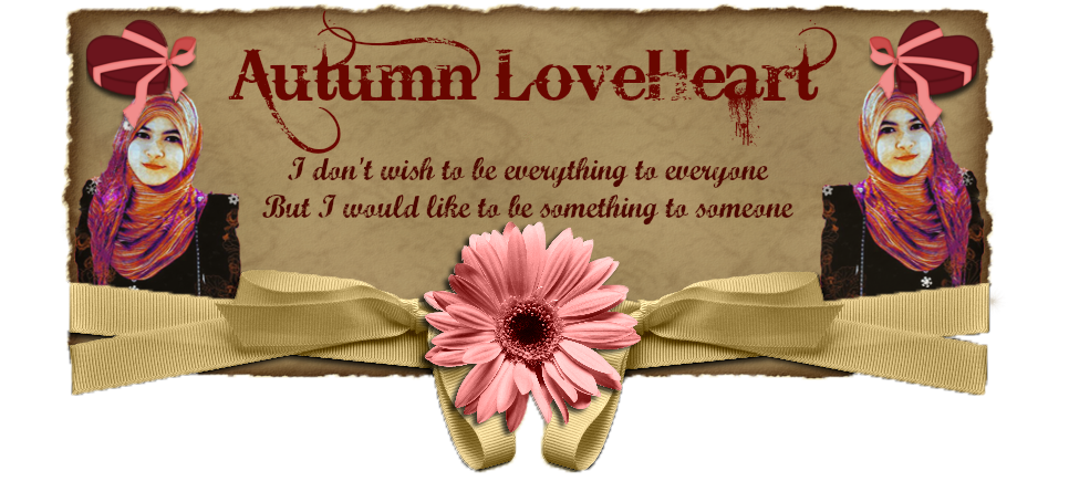♥♥♥ Autumn Loveheart ♥♥♥