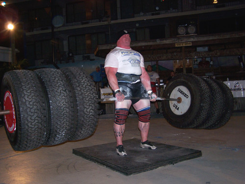Gerard Benderoth, strongman competition