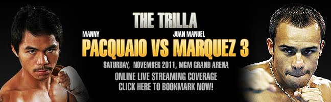 Manny Pacquiao vs Juan Manuel Marquez  Online Live Streaming, News, Updates, Pacquiao Marquez 24/7