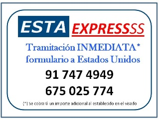 Obtener formulario ESTA para viajar a USA