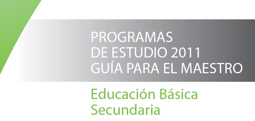 Programas SEP 2011