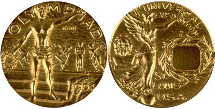 Medal Design Olympic Saint Louis 1904