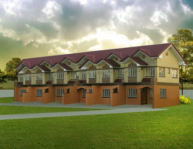 Amalfi II Model House (row of 4 units) in Tuscania Subd., CDO