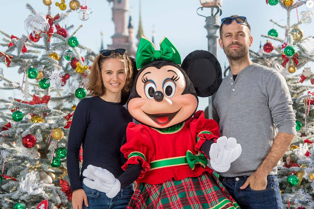 Actress @ Natalie Portman at Disneyland Paris