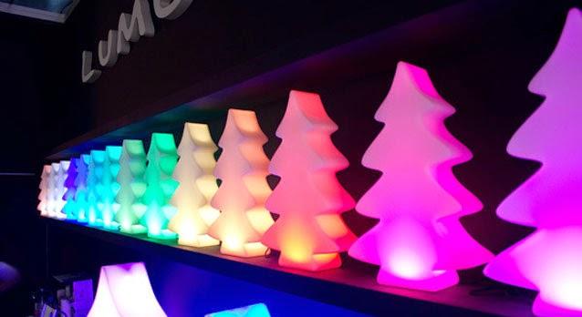Lumenio LED verlichte kerstboom in de maten maxi, mini en micro ...