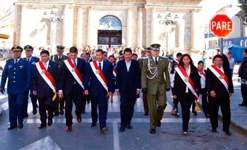 Tarija conmemoró el Día de la Independencia con fervor cívico