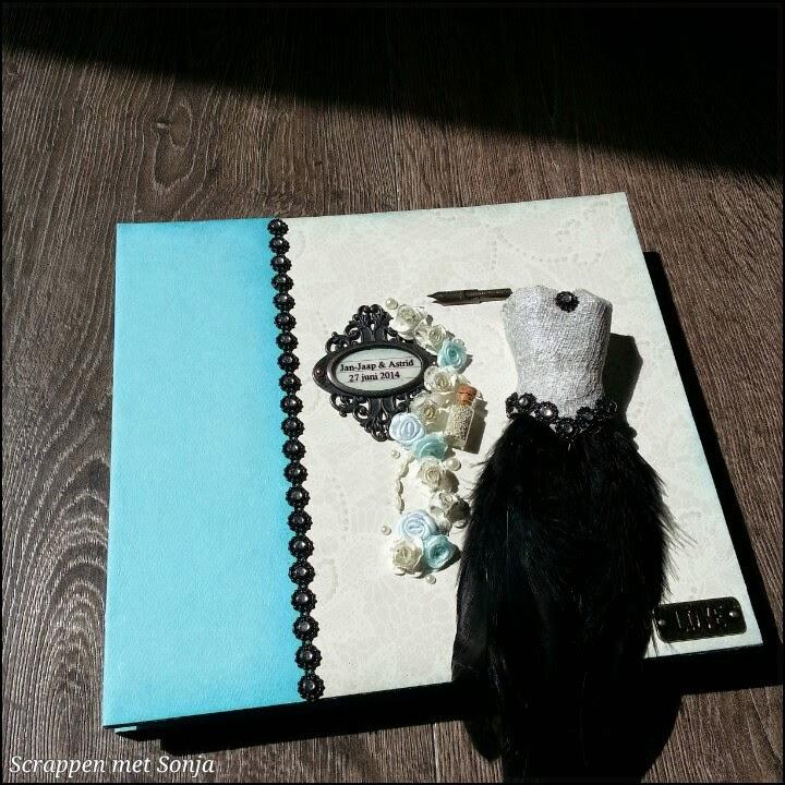 album voor bruidspaar