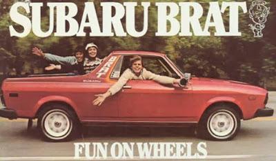 Subaru Brat. Subaru SVX punto es