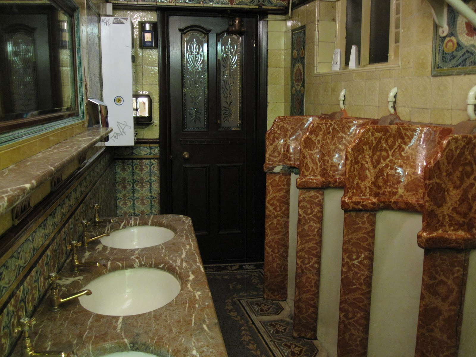 They are billed as  the only grade II  listed Gents in the UK   I don t  know whether this is true  but they certainly are spectacular  and a  tourist. Around Chester  Philharmonic Dining Rooms   Gents