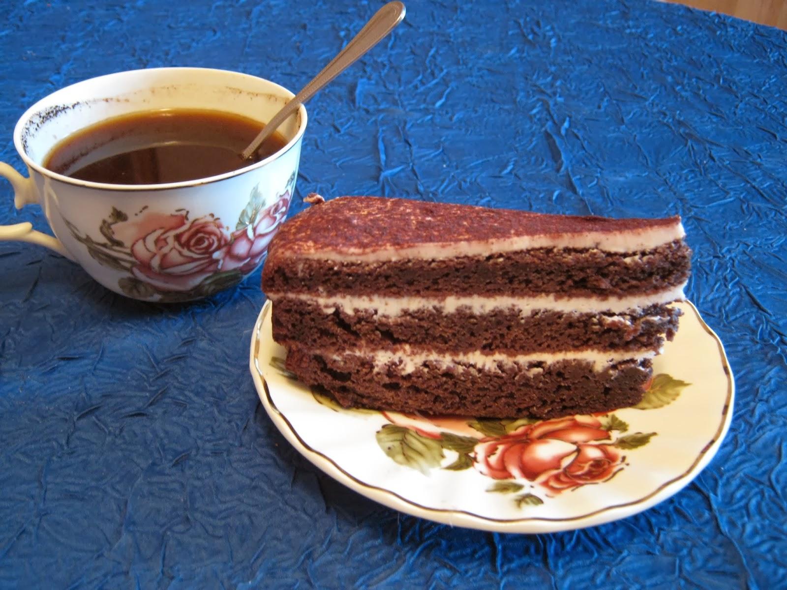 Торт черемуховый со сметаной рецепт пошагово