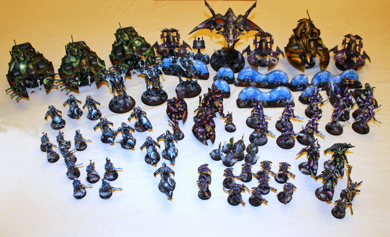 Hoperivers valley space eldar army now its taking part in massive voodoo contest bananalicios2 in army painting category im really proud of this big work and wish a lot of wins in publicscrutiny Image collections