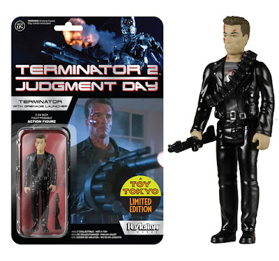 San Diego Comic-Con 2015 Exclusive Terminator 2 Terminator with Grenade Launcher ReAction Retro Action Figure by Funko & Super7