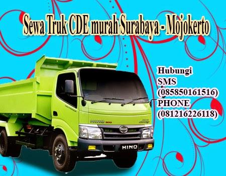 Sewa Truk CDE murah Surabaya - Mojokerto