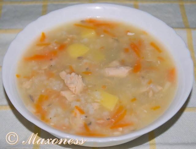 Суп рыбный из консервов