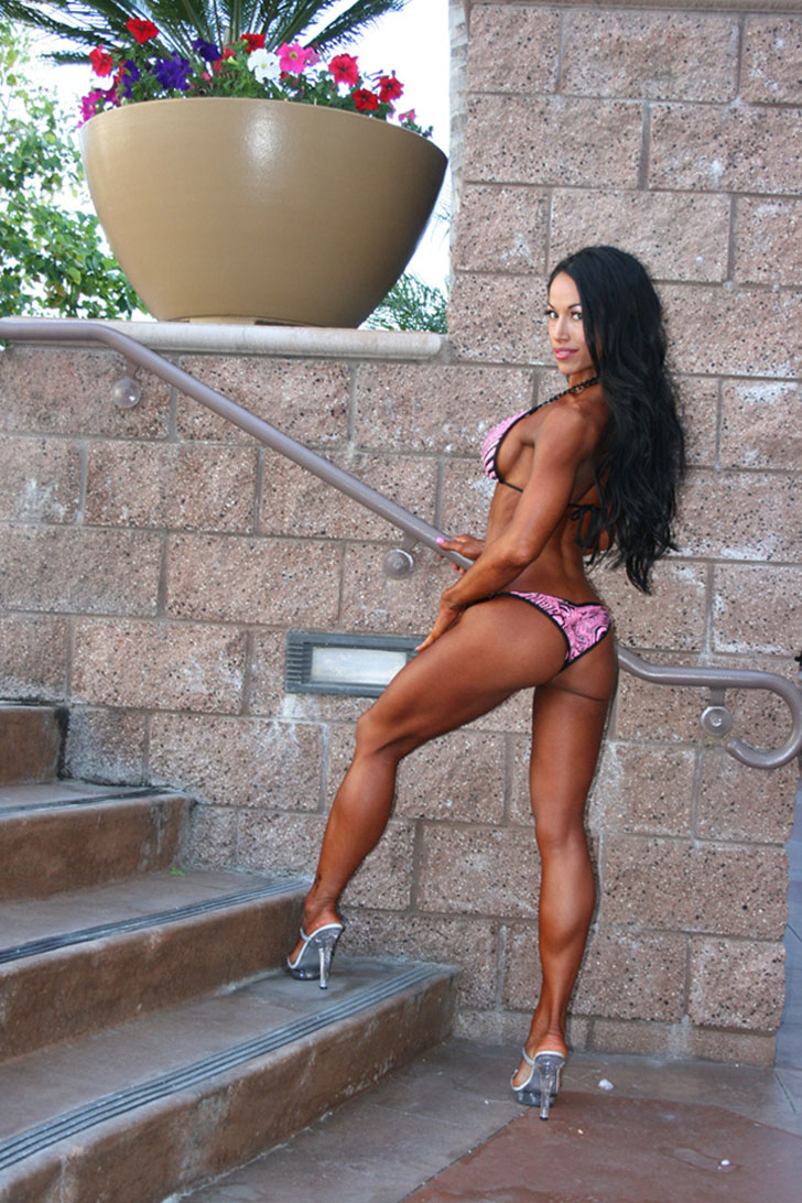 Janelle Tsao Models Her Great Calves And Glutes