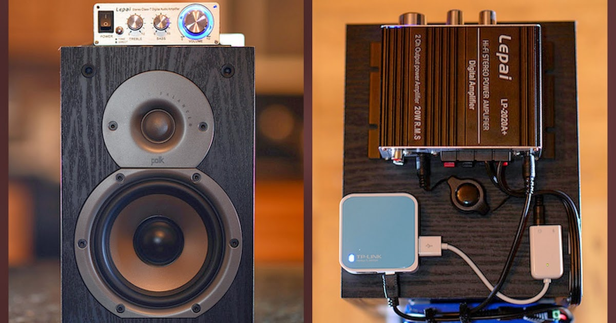 Qui U0026 39 S Technology Blog  Diy Portable Airplay Speaker System