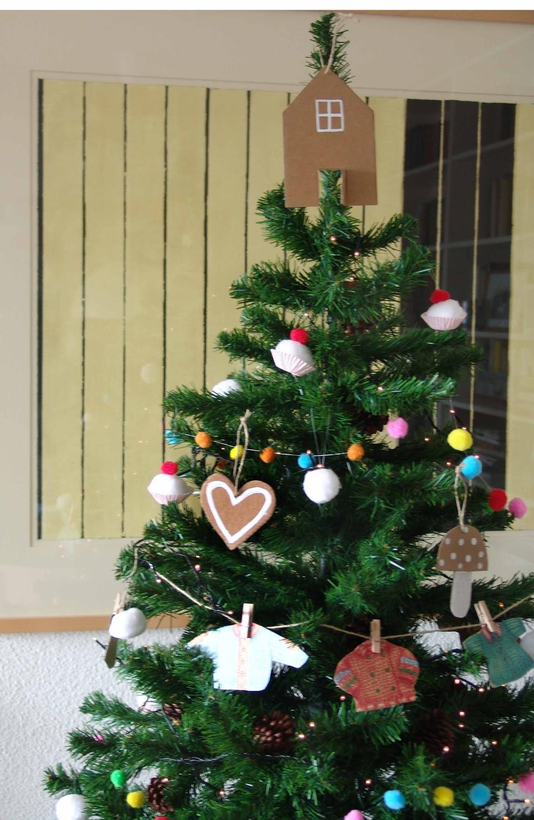 Lalibelula adornos para el arbol de navidad hechos a mano - Adornos para arboles de navidad ...