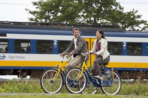 bike sharing Amsterdam OV- fiets